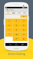 Screenshot of Call Global, Pay Local