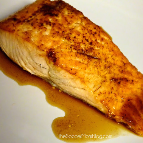 "Pan-Seared Salmon with ""Secret"" Thai Sauce + 5 Thai Food Favorites"