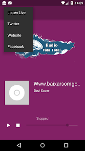 Rádio Vida Total - screenshot