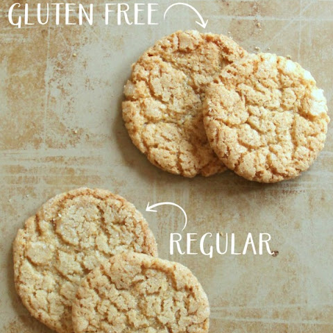 Gluten Free Cracked Brown Sugar Cookies (Best GF Cookies Ever!!)