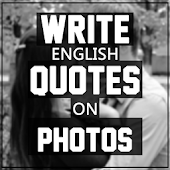 Write English Quotes on Photos