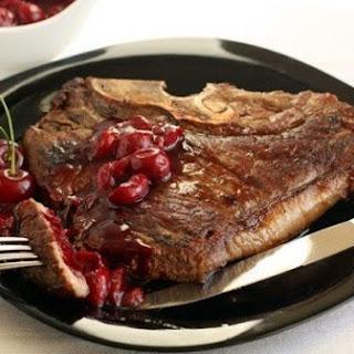 Cherry Sauce Steak Recipes