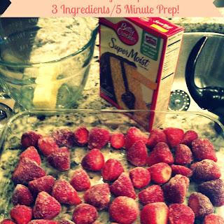 No Bake Strawberry Dump Cake Recipes