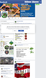 Cross Timbers District BSA - screenshot