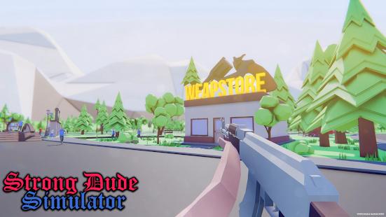 Strong Dude Simulator APK for Bluestacks