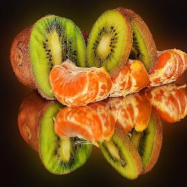 orange with kiwi by LADOCKi Elvira - Food & Drink Fruits & Vegetables