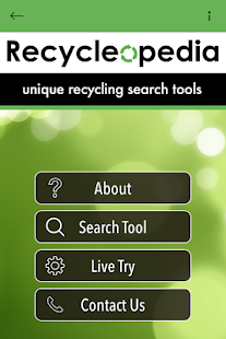 Recycleopedia - screenshot