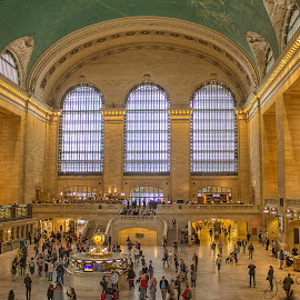 Grand Central Terminal by Joe Chowaniec - Buildings & Architecture Other Interior ( building, nyc, architecture, people )