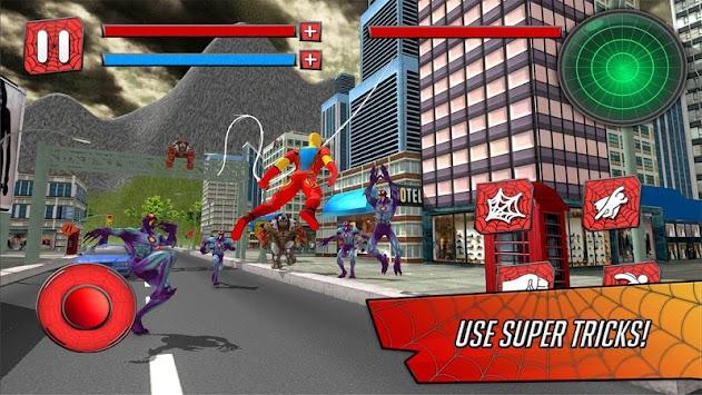 Super Spider Hero in City 3D apk screenshot