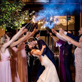 Light up, Light up by Paul Duane - Wedding Reception ( ireland, wedding, fireworks, sparklers )