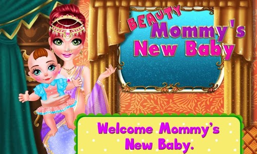 Beauty Mommy's New Baby