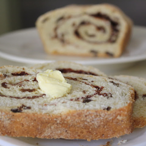 Brown Sugar Cinnamon Swirl Raisin Bread