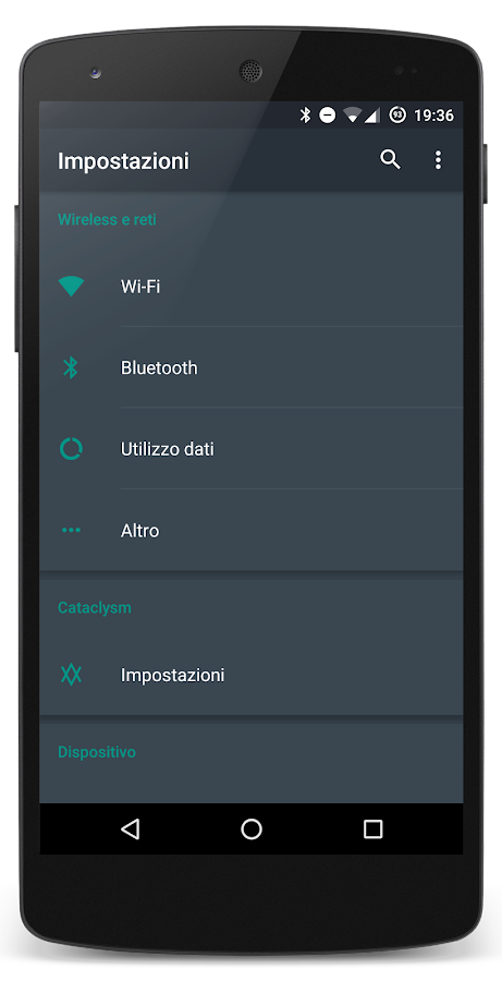 [Substratum] Dark Stock Theme Screenshot 5