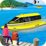 Water Taxi Of Power boat: Crazy Taxi Sim 3D file APK Free for PC, smart TV Download