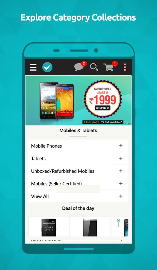 ShopClues: Online Shopping App Screenshot 1