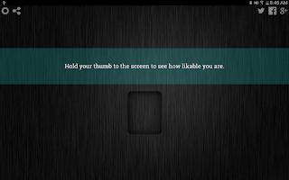 Screenshot of Likability Scanner Prank
