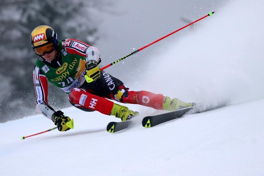 Erik Read in Kranjska gora by Igor Martinšek - Sports & Fitness Snow Sports ( pokal vitranc, fis ski world cup, slovenia, erik read, kranjska gora )