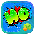 GO SMS GRAFFITI WORD STICKER APK for Bluestacks