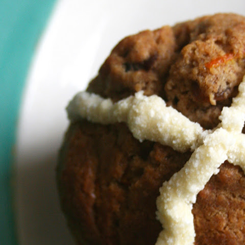 'Hot Cross Bun' Muffins