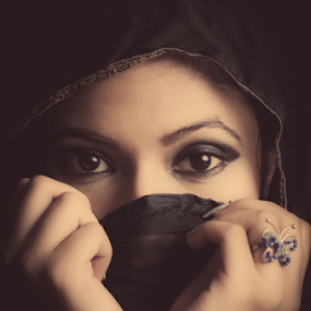 . by Moin Ally - People Portraits of Women ( bangla, desi, dhanmondi, nikkor, 50mm, beauty, pretty, dhaka, eyes, bangladesh, woman, bengali, nikon, eye, butterfly, ring, tone, deshi, portrait, prime, portraiture, female, bangladeshi, d7000, lady )