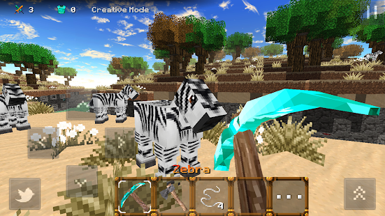 Savanna Craft APK for Bluestacks