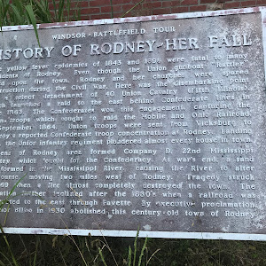 History of Rodney - Her Fall
