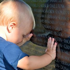 reflections of war by Tyrell Heaton - Babies & Children Children Candids