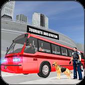 Police Dog Tourist Bus Station APK for Bluestacks