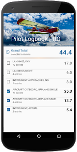 Pilot Logbook PRO- screenshot thumbnail