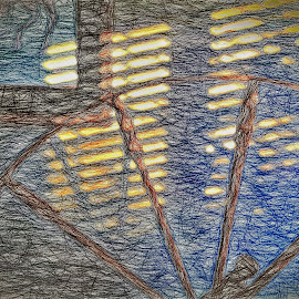 Spinning Wheel Art by Allen Crenshaw - Digital Art Abstract ( spinning wheel, abstract art, digital art, photography by allen crenshaw, photography, north carolina )