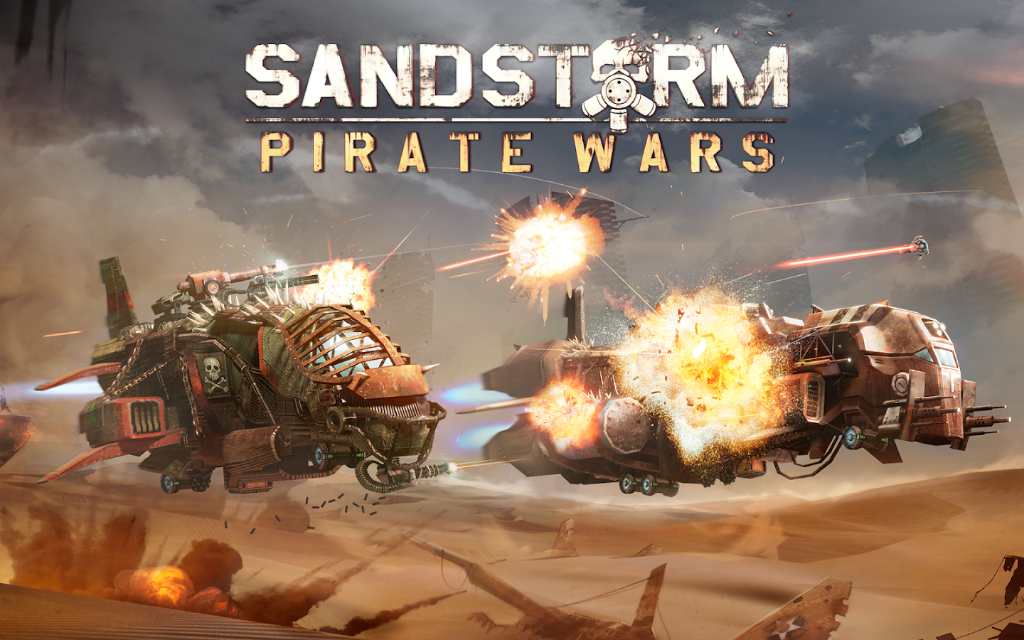 Sandstorm: Pirate Wars Screenshot 14