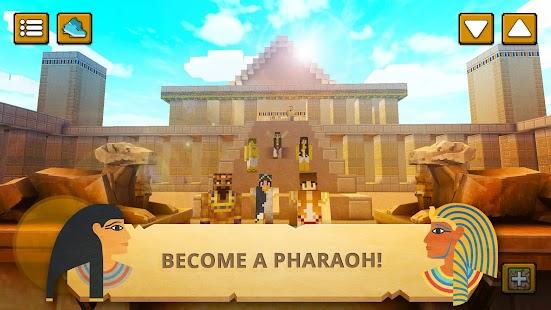 Egypt Craft: Pyramid Building & Exploration Games
