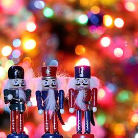Christmas Nutcracker Drummer by Tony Bendele - Artistic Objects Still Life ( nutcracker, drummer, christmas, decorations )