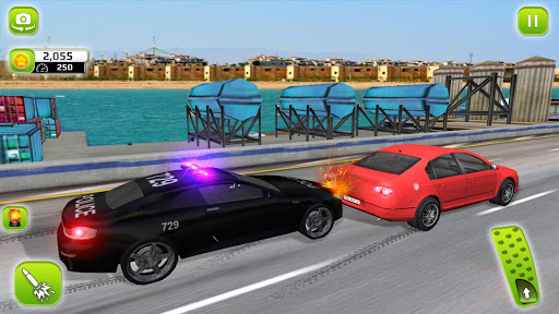 Police Highway Chase in City - Crime Racing Games screenshot 4
