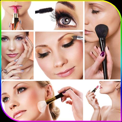 Step by step makeup (app)