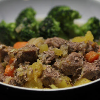 Pressure-Cooker Lamb Stew