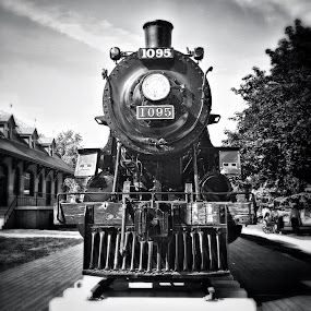 Train by Geary LeBell - Instagram & Mobile iPhone ( steam engine, coal, locomotive, train, iron )