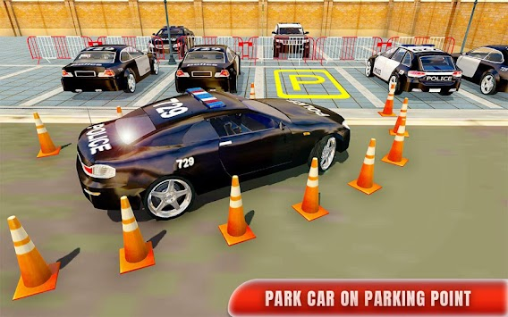 Police Car Parking Adventure 3D APK screenshot thumbnail 1