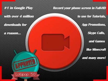 App NO-ROOT Record Screen to Video apk for kindle fire