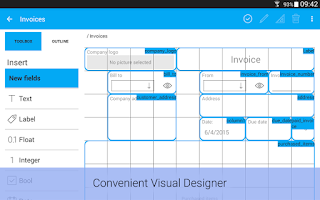 Screenshot of MobiDB Database Designer Pro