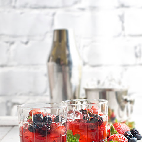 Blackberry Smash with Garrison Brothers Bourbon Whiskey Recipe ...