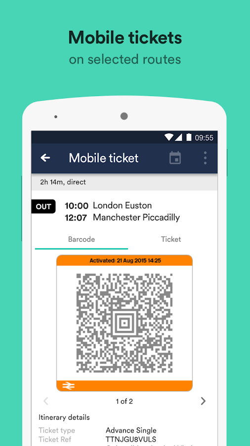 Trainline – times & tickets Screenshot 3