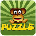 Kids Games Puzzle Wild Animals Icon