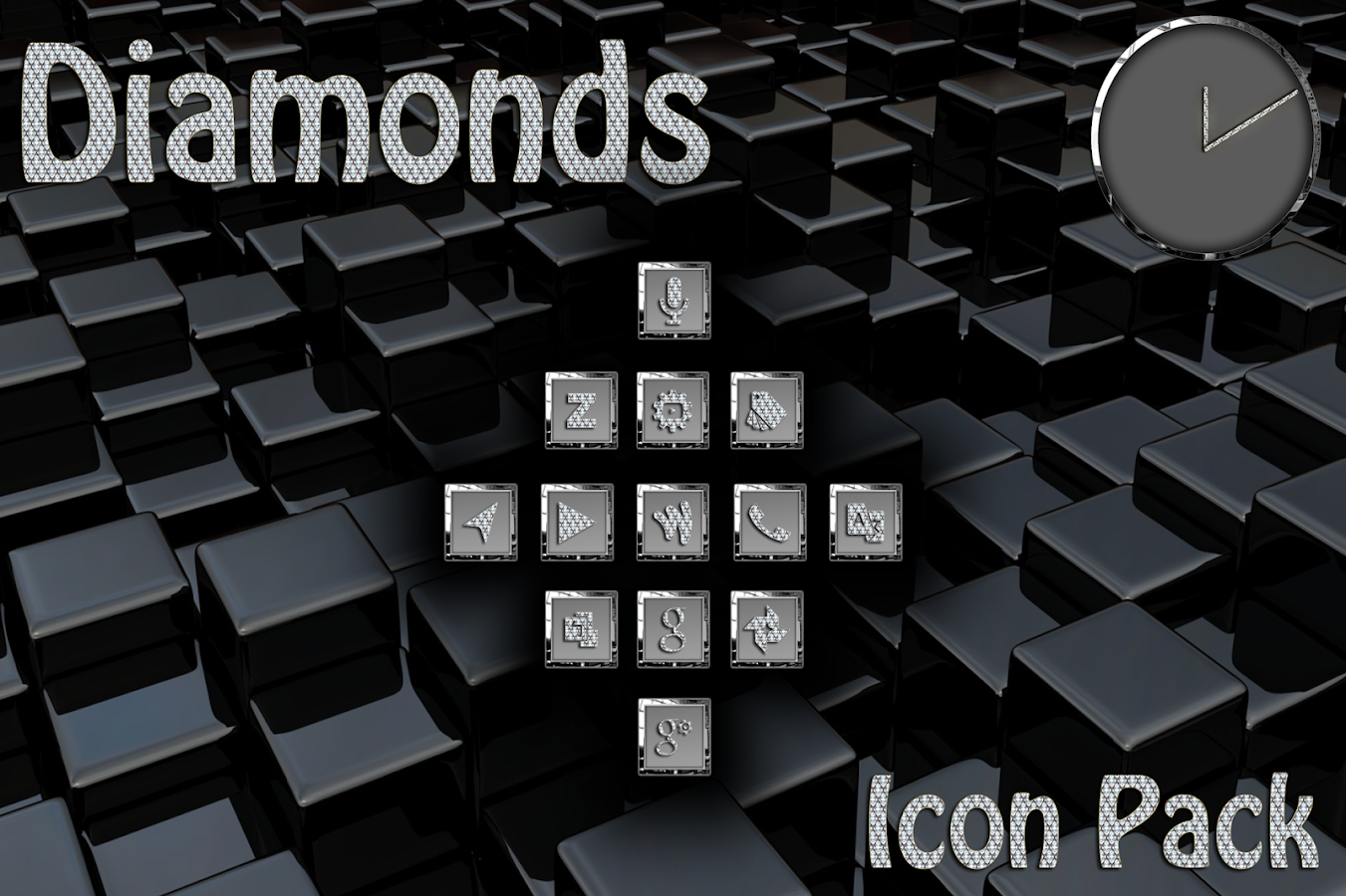 Diamonds Square Icon Pack Screenshot 5