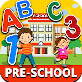Preschool Learning - Kids ABC, Number, Color games