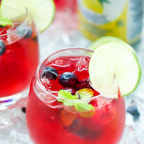 Berry Hibiscus Iced Tea Lemonade Refresher