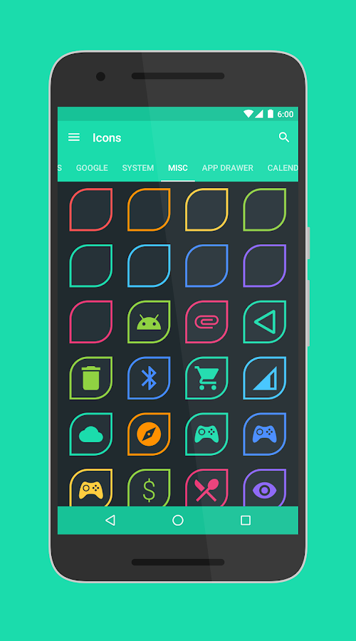 Folium - Icon Pack Screenshot 3