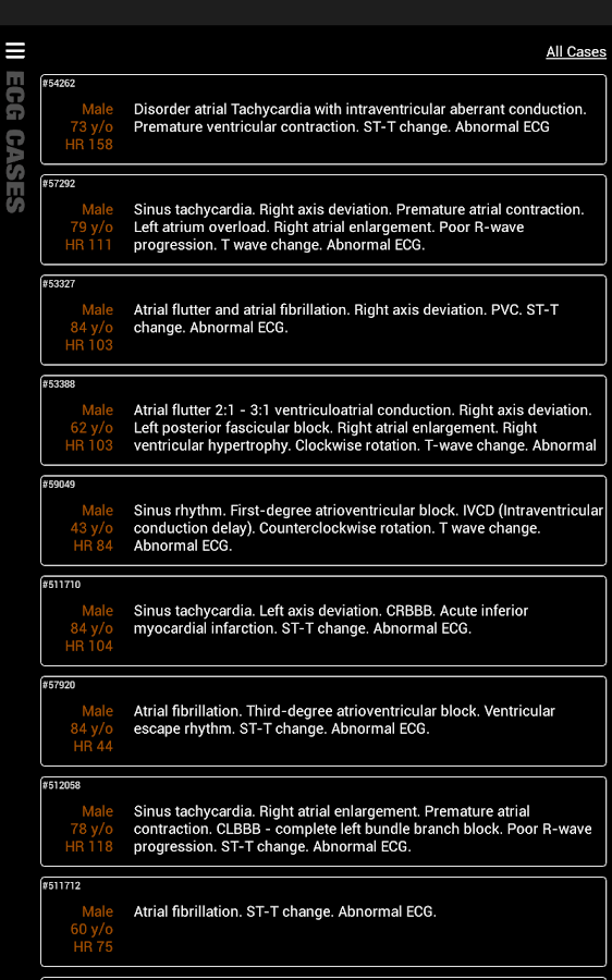 ECG Pro - Cases / Compendiums Screenshot 10