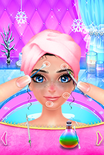 Ice Princess Makeup Salon - screenshot