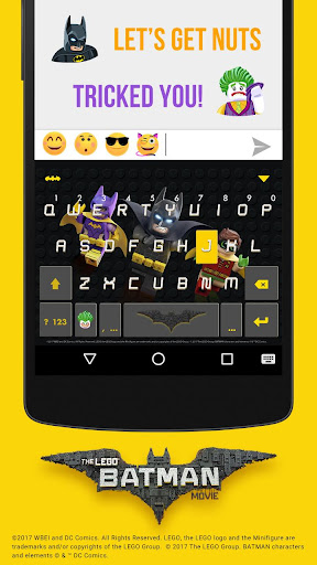 LEGO Batman Kika KeyboardTheme For PC